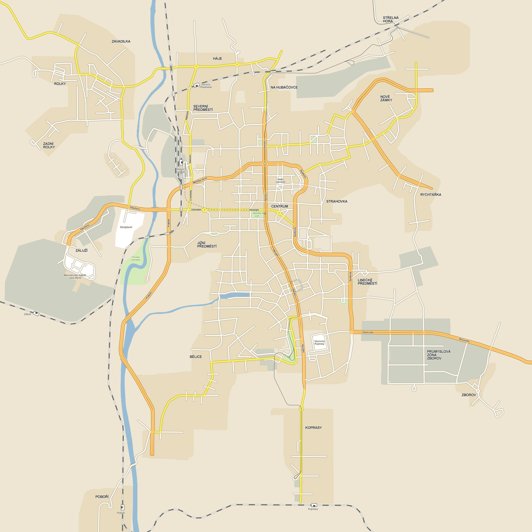 Online mapa